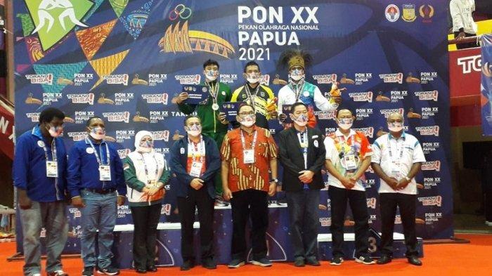 Tim Gulat DKI Jakarta dan Empat Provinsi Ini Belum Mendapatkan Medali Dari Arena Gulat