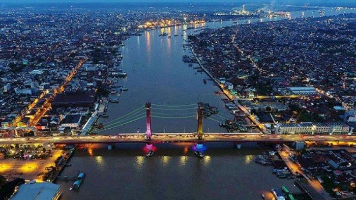 Amankan Natal dan Tahun Baru, 1.000 Personil Dikerahkan, Siap Bubarkan Kerumunan di Jembatan Ampera