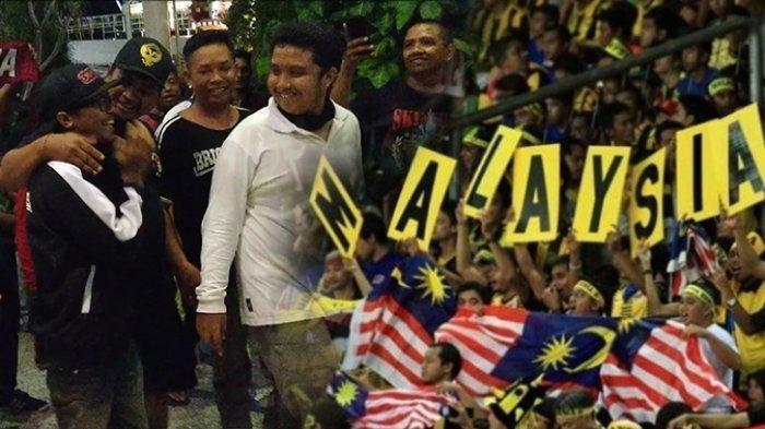 Suasana penjemputan Andreas Setiawan oleh Suporter Indonesia Pulau Bali di Bandara Internasional I Gusti Ngurah Rai, Jumat (29/11/2019). TRIBUN BALI/M FIRDIANI
