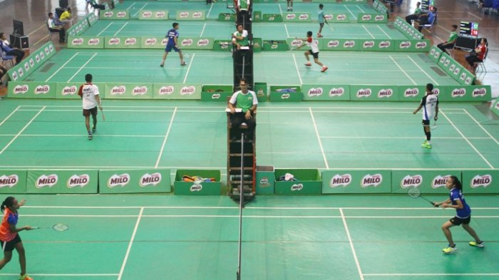 SIRNAS-MILO Badminton Competition Edisi Malang Diikuti 700 Pebulutangkis