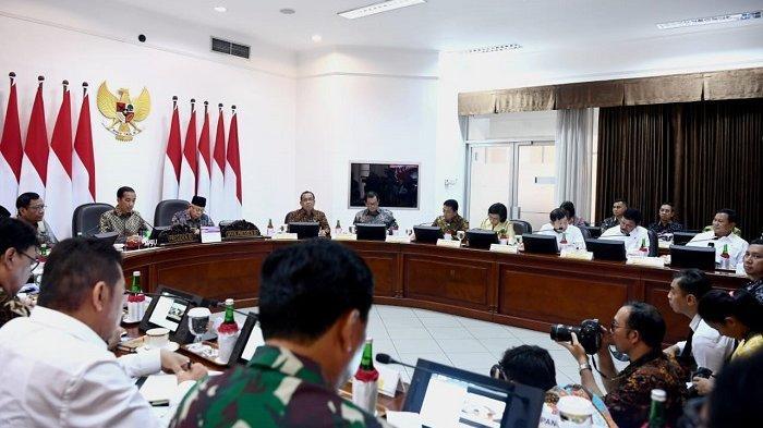 Gelar Ratas, Jokowi Minta Peringkat Kemudahan Berusaha Indonesia Naik dari 73 ke 50