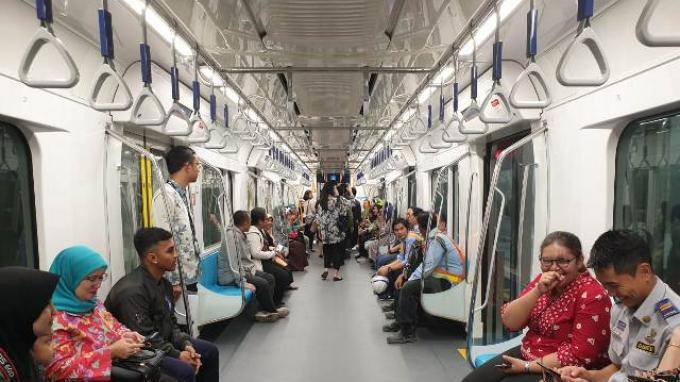 Menteri Perhubungan Berharap MRT Digratiskan Selama 1 Bulan, Ini Alasannya