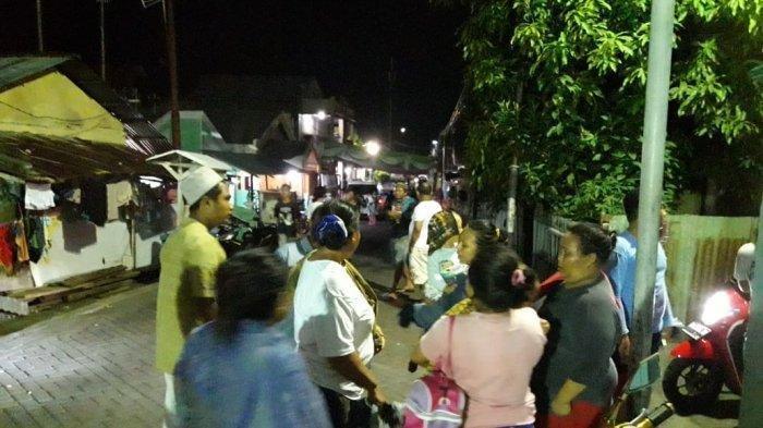 Situasi di Pemukiman Warga di Maasing Manado Pasca Gempa