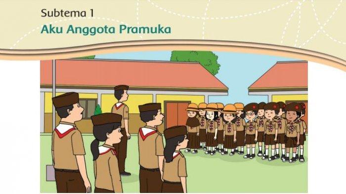 Kunci Jawaban Kelas 3 SD Tema 8 Halaman 4 5 6 7 8 Buku Tematik Praja Muda Karana