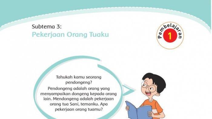 Kunci Jawaban Tema 4 Kelas 4 Halaman 96 97 98 99 100 101 102 Buku Tematik Subtema 3 Pembelajaran 1 Halaman All Tribunnews Com