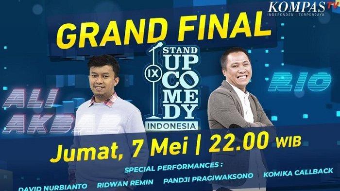 Malam Ini, Ali Akbar dan Rio Dumatubun Bersaing Raih Juara SUCI IX Kompas TV