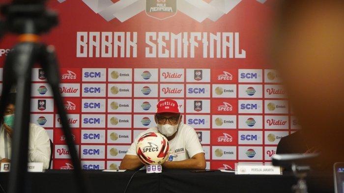 Persija Jakarta Bawa Pemain Muda Tapi Belum Bisa Dimainkan Lantaran Ini kata Pelatih Persija