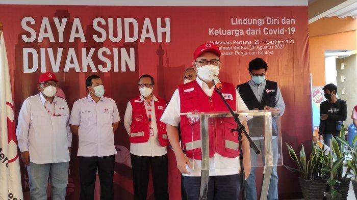 PMI Kota Jakarta Pusat Gelar Vaksinasi untuk Percepat Penanganan Covid-19