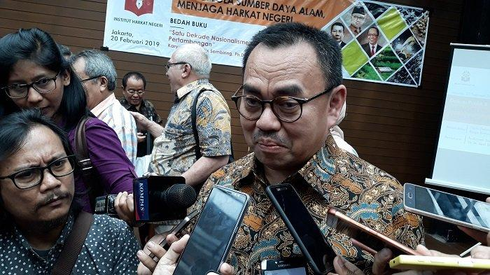 Sudirman Said Ungkap Pertemuan Rahasia Jokowi dengan Bos Besar Freeport