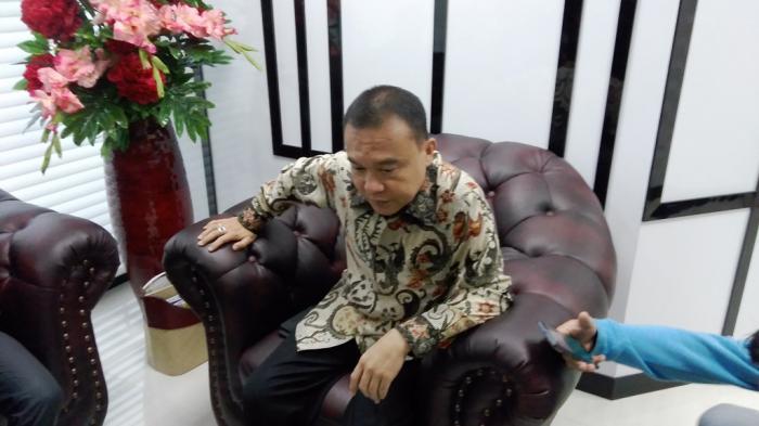 Wakil Ketua Umum Gerindra Sufmi Dasco Ahmad di Gedung DPR RI, Jakarta, Jumat (14/10/2016).