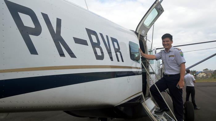 Susi Air Batal Terbang Perdana ke Long Layu, Penumpang Tertahan di Nunukan