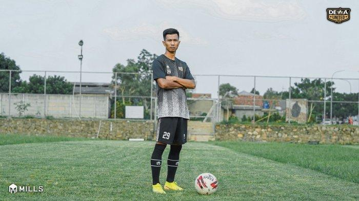 Suhandi, gelandang serang Dewa United FC
