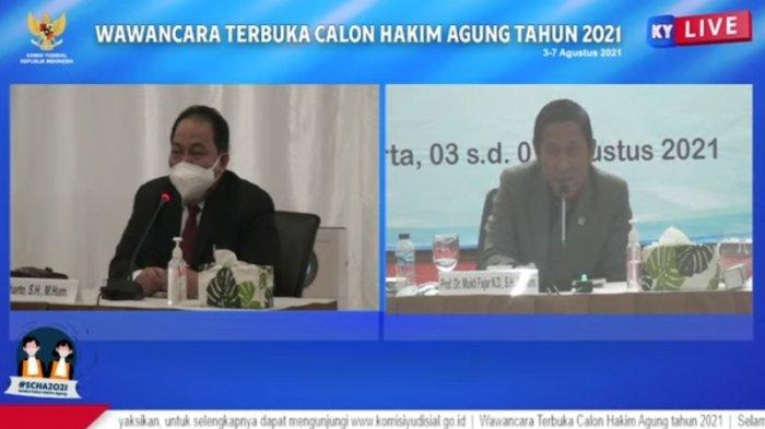 Calon Hakim Agung Suharto Ditanya Soal Pidana Mati Terhadap Anak