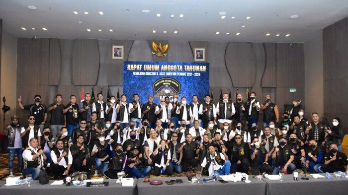 Suherli Kembali Pimpin Klub Moge Harley Owners Group Anak Elang Jakarta Chapter