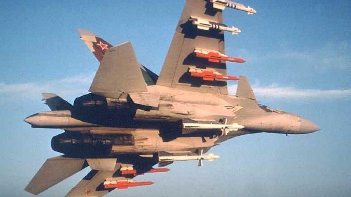 Pesawat Sukhoi AU China Terobos Wilayah Udara Taiwan, Dicegat F-16