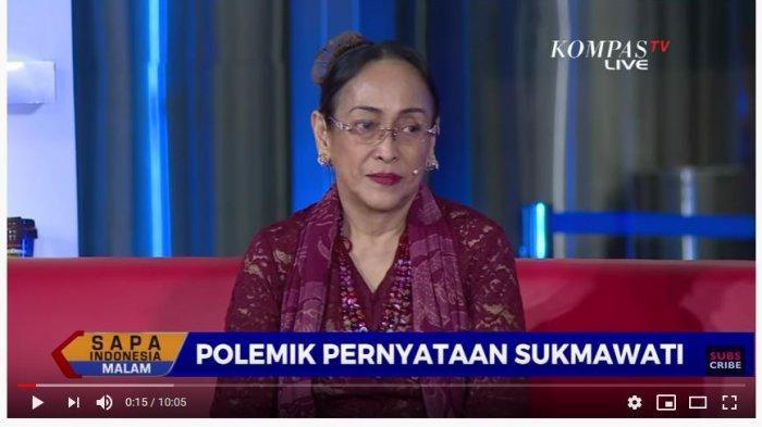 Sukmawati Soekarnoputri (Youtube KompasTV)