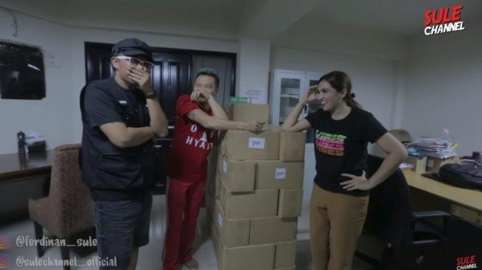 Sule terkejut mendengar biaya listrik bulanan Anang Hermansyah dan Ashanty, diunggah Rabu (25/3/2020).
