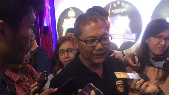 Kombes Pol. Sumardji saat menghadiri acara launching Bhayangkara FC jelang berlaga di Liga 1 2020, Auditorium PTIK, Jakarta, Senin (24/2/2020).