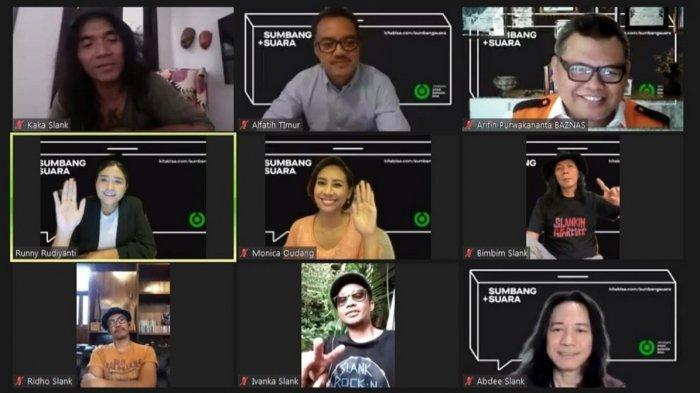 Yayasan Anak Bangsa Bisa (YABB) dari Gojek bekerja sama dengan platform donasi online KitaBisa dan grup musik Slank, mencanangkan gerakan solidaritas #SumbangSuara.