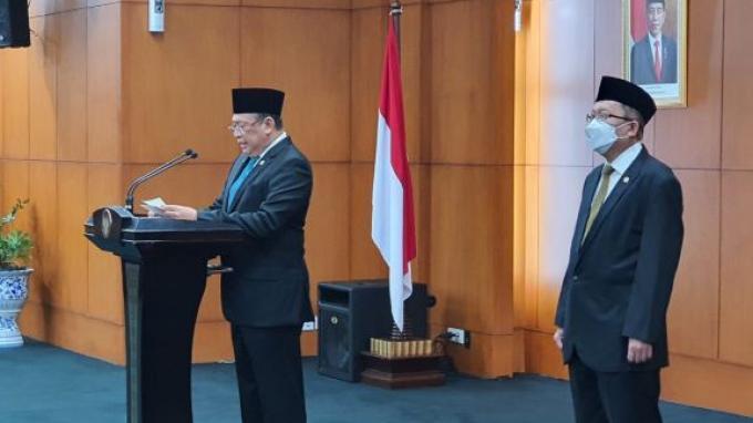 Bamsoet Pimpin Upacara Pengucapan Sumpah PAW Anggota MPR Fraksi PAN