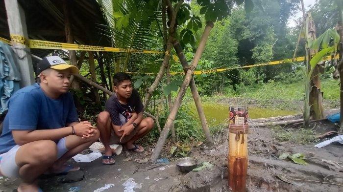 Air Sumur Bor di Dusun Ngrawan Karanganyar Mampet, Warga Cek Pakai Korek, Sontak Api Menyala
