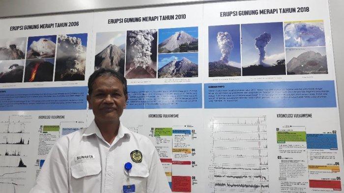 36 Tahun Amati Gunung Merapi, Sunarto Rela Korbankan Diri Hadapi Erupsi