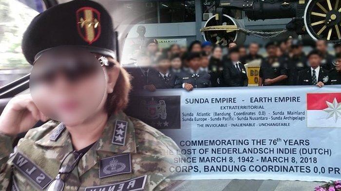 Sunda Empire diketahui dari postingan Facebook Renny Khairani.