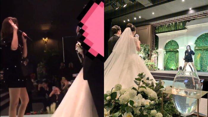 14 Tahun Jadi Fans, Sepasang Kekasih Dapat Hadiah Istimewa dari sang Idola saat Menikah