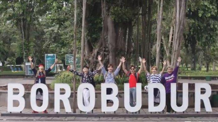 Liburan ke Jogja ala Super Junior dan TVXQ, Nikmati Indahnya Candi Borobudur