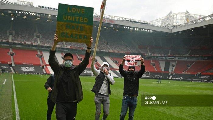 Liga Inggris - Manchester United Bisa Dihukum Pengurangan Poin atas Insiden di Old Trafford