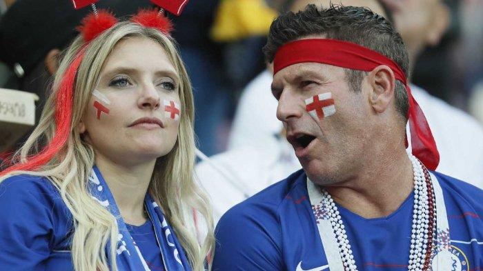 Suporter Timnas Inggris Pilih Dukung Kroasia