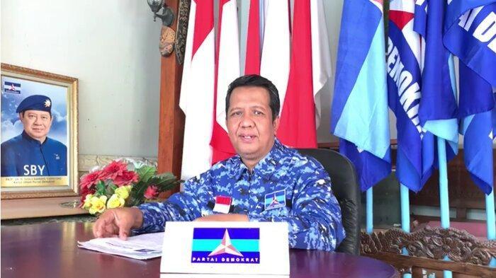 Ketua DPC Partai Demokrat Surakarta, Supriyanto.