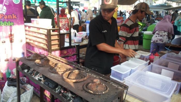 Kisah Uus, Mantan Chef Hotel Jualan Surabi, Dagangannya Kini Sepi karena Pandemi