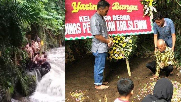 Usahanya Mencari Hingga Kaki Kram Gagal, Ayah Yasinta Intan Korban Susur Sungai: Dek, Maafin Bapak