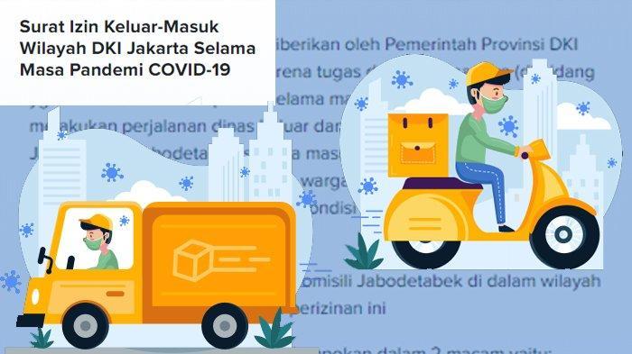 Surat Izin Keluar-Masuk (SIKM) wilayah DKI Jakarta Selama Masa Pandemi Covid-19
