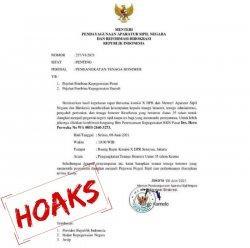 Lagi, Kementerian PANRB Temukan Surat Palsu Pengangkatan Tenaga Honorer