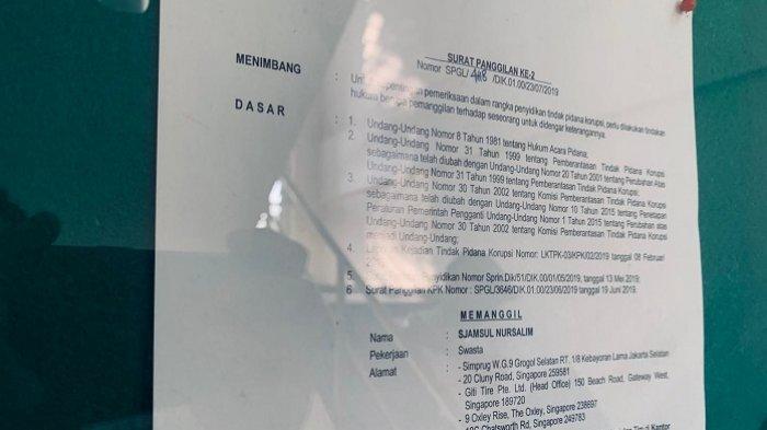 KPK Jadwalkan Periksa Tersangka Kasus BLBI Sjamsul Nursalim dan Istrinya Itjih Nursalim Jumat Besok