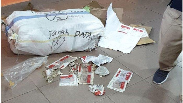 Satu Karung Surat Suara DPD Sumatera Barat Ditemukan Tercecer di Kecamatan Salo, Kampar