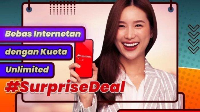 Surprise Deal Telkomsel Tawarkan Kuota 50 GB Rp 100 Ribu