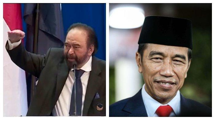 Surya Paloh dan Presiden joko Widodo