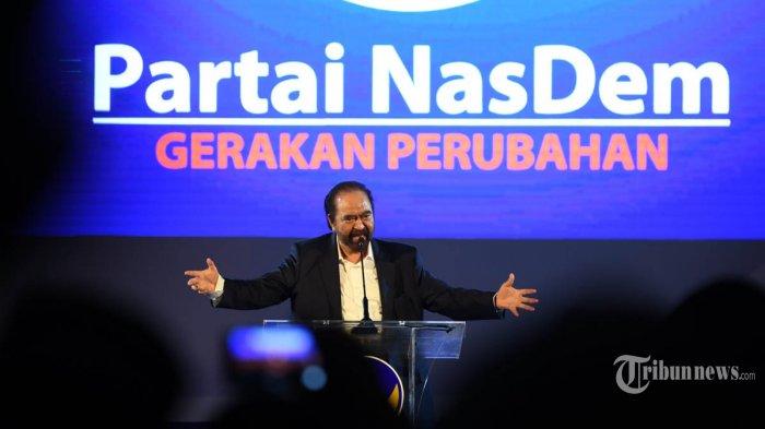 Ketua Umum Partai Nasdem Surya Paloh Positif Covid-19, Kondisinya Baik dan Stabil