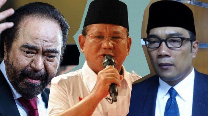 Prabowo Harus Waspada, Surya Paloh hingga Kang Emil Disebut akan Jadi Capres 2024 Pengganti Jokowi