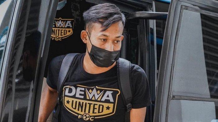Susanto, pemain Dewa United FC