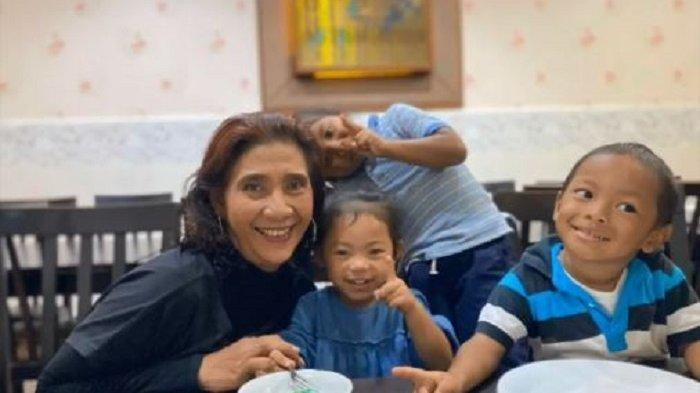 Kunjungi Masamba, Susi Pudjiastuti Bagikan Video Liburannya Bareng Cucu