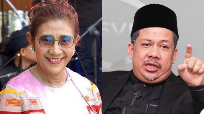 Fahri Hamzah Tanggapi soal Sebutan Susi Pudjiastuti sebagai Ratu Lobster Asia, Begini Katanya