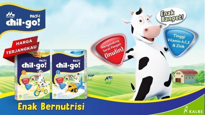 Susu Bubuk Morinaga Chil Go bagi anak jempolan