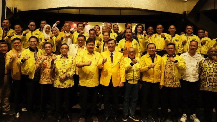 Ini Susunan Pengurus Golkar, Nurul Arifin dan Bamsoet Jadi Waketum, Luhut Ketua Dewan Penasihat