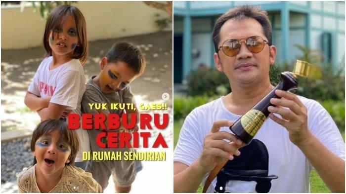Kangen Bikin Film Bareng sang Anak, Hanung Bramantyo Adakan Lomba 'Berburu Cerita', Ada Hadiahnya