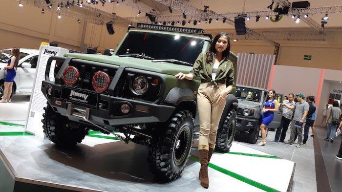 Suzuki Jimny di arena GIIAS