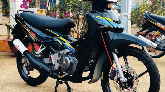 Ini Dia Modifikasi Suzuki Satria 2 Tak Yang Bikin Kantong Jebol Tribunnews Com Mobile